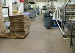 food processing epoxy floors and fiberglass ceiling installation Oregon