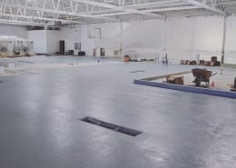 Common Space Brewing Flooring job