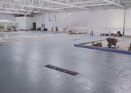 Common Space Brewing Flooring job