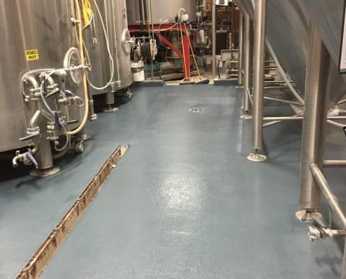 Ballast point floor job
