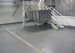 Dairy Farmers of America fiberglass floor installation