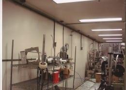 Oregon Ice Cream wall floor fiberglass installation