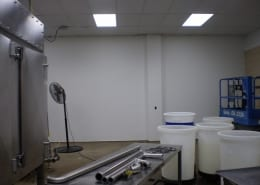 Fiberglass matte wall system installation by cascade floors
