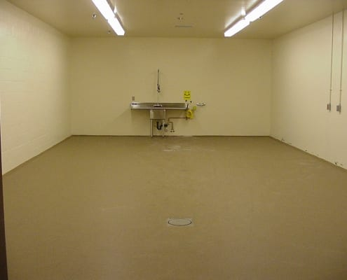 pharmaceutical polyester flooring installation Oregon