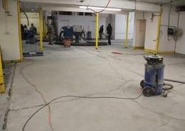 Fish processing polyester flooring installation in Washington