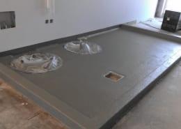 Worthy Brewing Epoxy floor installation