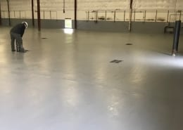 Union Wine works epoxy flooring installation
