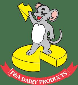 F & A Dairy logo