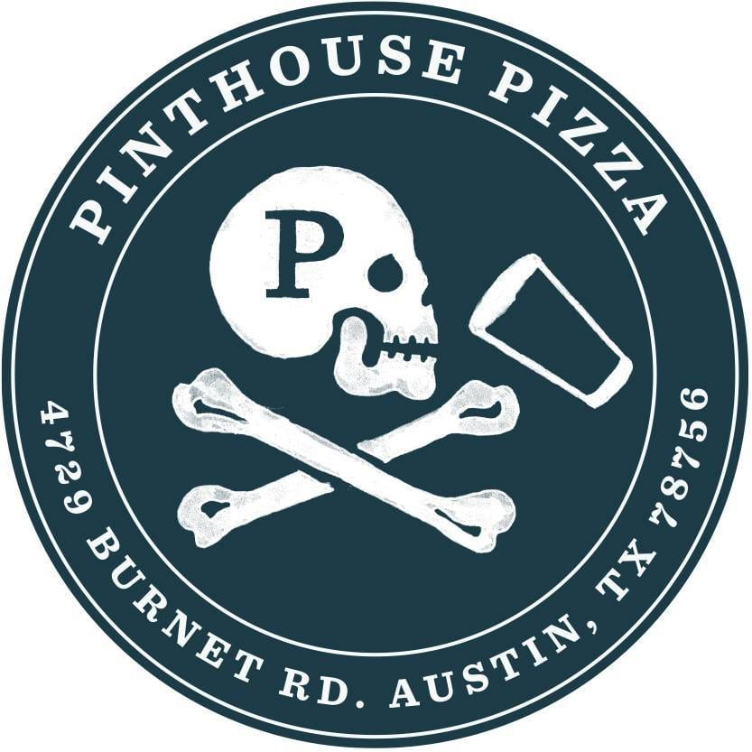 Pinthouse brew pub logo in Austin Texas