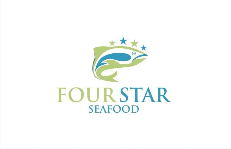 Four Star Seafood Logo